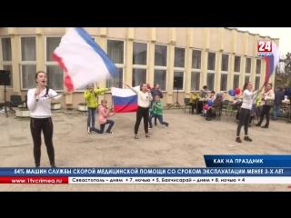 На выборы, как на праздник: в Мирном возле избирательных участков организовали концерты и бесплатные аттракционы