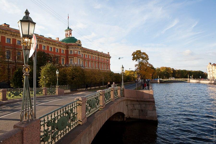 Сантк-Петербург экскурсия Михайловский замок