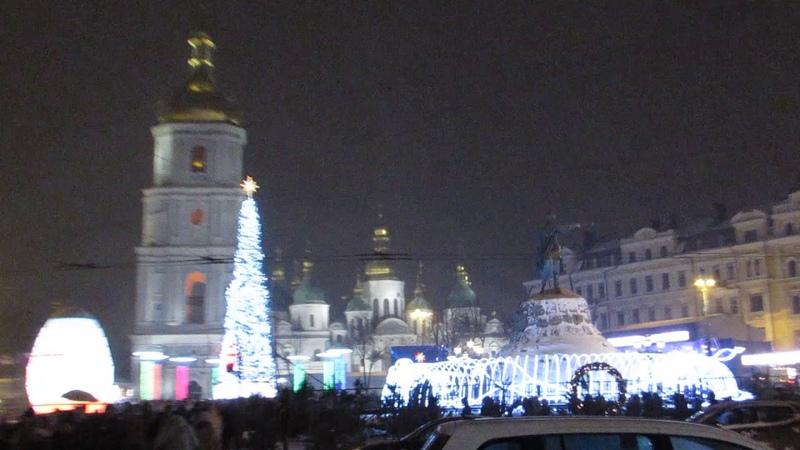 Рождество на Софиевской площади