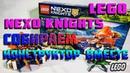 LEGO NEXO KNIGHTS 72001 СОБИРАЕМ КОНСТРУКТОР ВМЕСТЕ