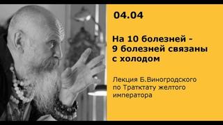 Бронислав Виногродский: лекция по Трактату Желтого императора / 04.04.19