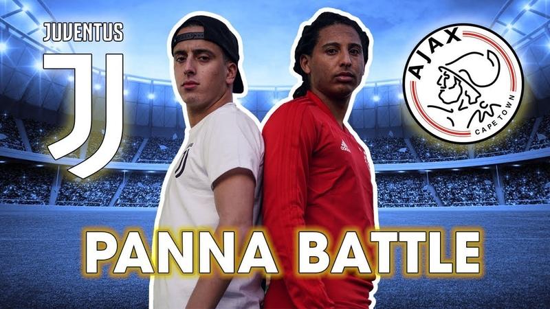 AJAX vs. JUVENTUS - Epic PANNA Battle ft. Nasser el Jackson