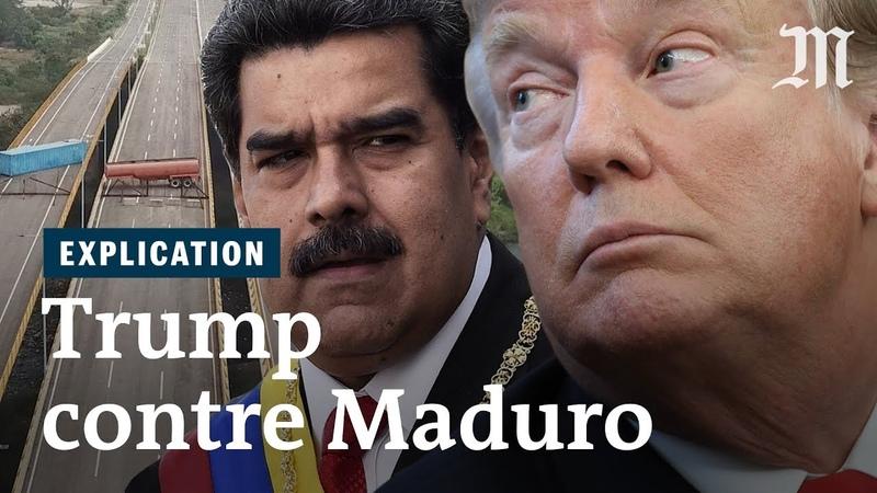 Venezuela pourquoi Trump veut tant le départ de Maduro