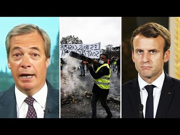 'He Totally Deserved This' - Nigel Farage REACTS To Mass Protests In France