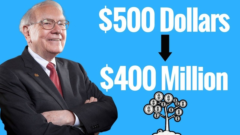 Warren Buffett How To Turn A $500 Investment Into $400M Dollars SKIP TO 3 25
