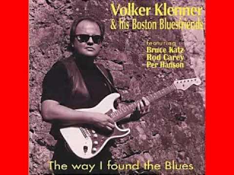Volker Klenner His Boston Bluesfriends 2000 The Way I Found The Blues Dimitris Lesini Blues
