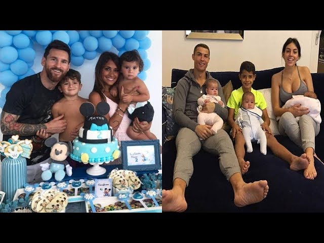 Семья Месси и Роналдо
