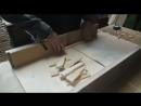 Изготовление боковой планки рамки с гофманским разделителем 145мм