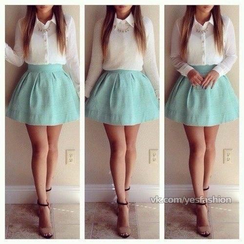 Юбки модные для девочек