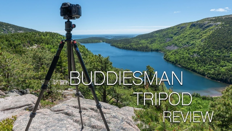 Buddiesman Carbon Fiber Tripod Review