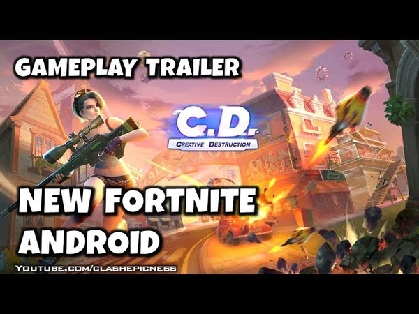 Creative Destruction - Gameplay Trailer - NEW FORTNITE (iOS, Android)