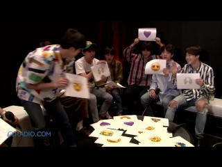180529 BTS Use Emojis to React to Everything From Michael Jackson to Taco Bell @ Radiodotcom (3)