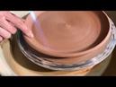 🍯 Плоская тарелка из глины цвета чайной розы Обучение гончарству Волшебство керамики