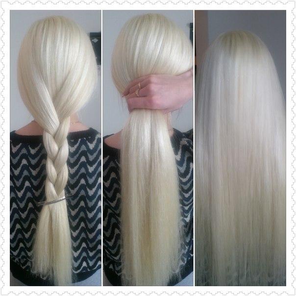 Волосы 70 см.