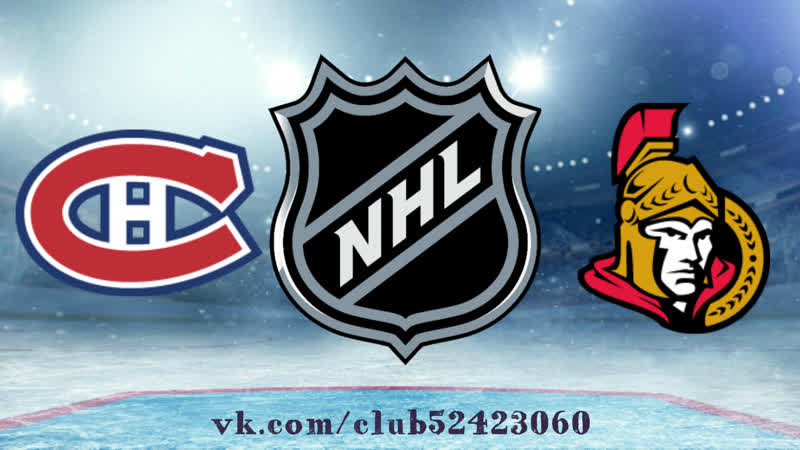 Montréal Canadiens vs Ottawa Senators | 06.12.2018 | NHL Regular Season 2018-2019