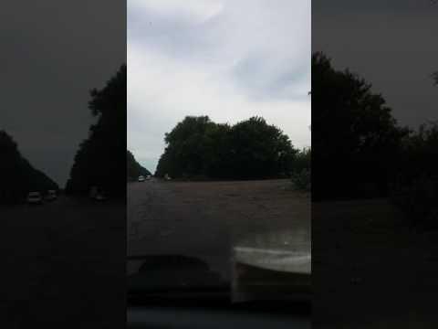 Последствия урагана 1.07.17 через 2 дня. Дорога Золотоноша-Драбов.
