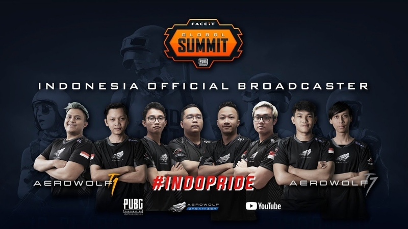 INDOPRIDE AEROWOLF TEAM 1 DAN 7 DI LONDON - FACEIT GLOBAL SUMMIT PUBG CLASSIC (GROUP A VS GROUP C)