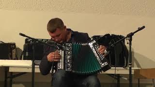 Играй гармонь 25.08.18г. г.Варштайн. 1-часть. Александр Ланин,гармонист золотой десятки России.