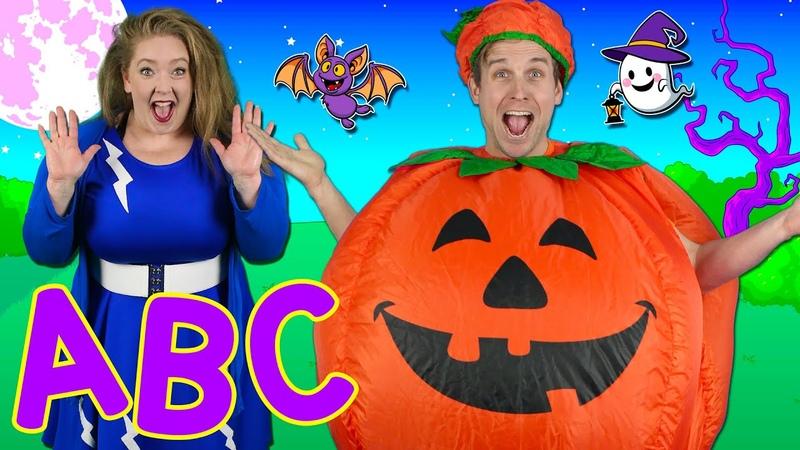 Alphabet Halloween ABC Halloween Song 🎃 Learn the alphabet phonics Bounce Patrol