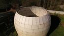 Монолитный Купольный Дом из бетона с несъемной опалубкой и скорлупой из пенопласта