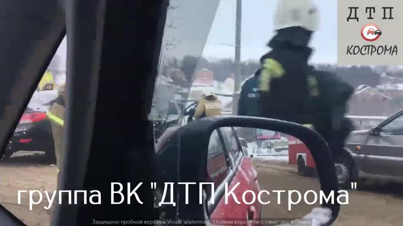 ДТП на Нижней Дебре