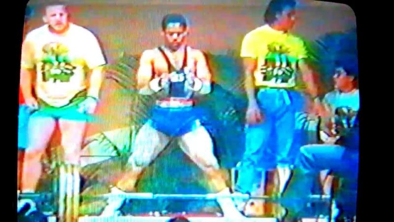 Дэн Остин - тяга 315 кг (67,5 кг)