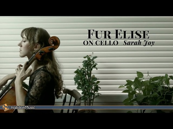 Beethoven - Für Elise (on cello) | Sarah Joy