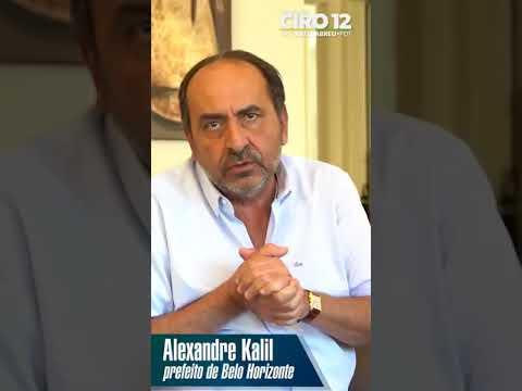 Ciro Gomes recebe apoio oficial de Alexandre Kalil, prefeito de BH (05/09/2018)