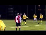 Paul Scholes scores from own half in Chaddy Park Legends match