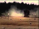 Kuwaiti crew TANK DRIFT rolls-over T-72 at Russia's Tank Biathlon