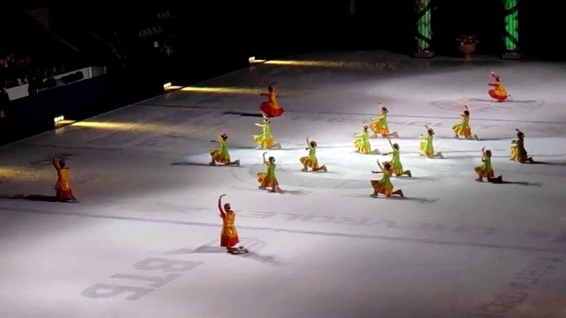 Туркменская команда фигуристов в Олимпийском 20.04.2013 ч. 2