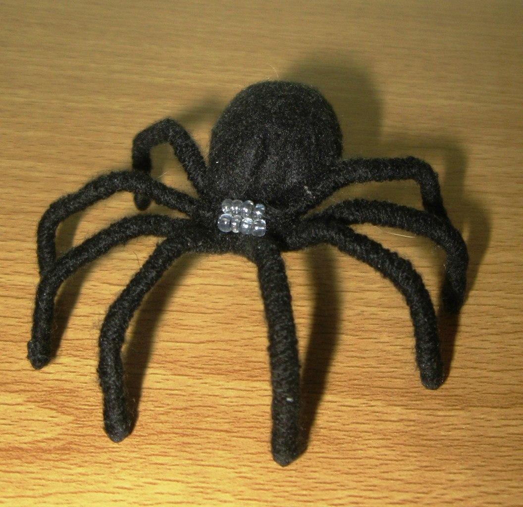 Как сделать приготовленный глаз паука