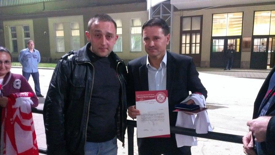 Индивидуальные призы для Дмитрия Аленичева