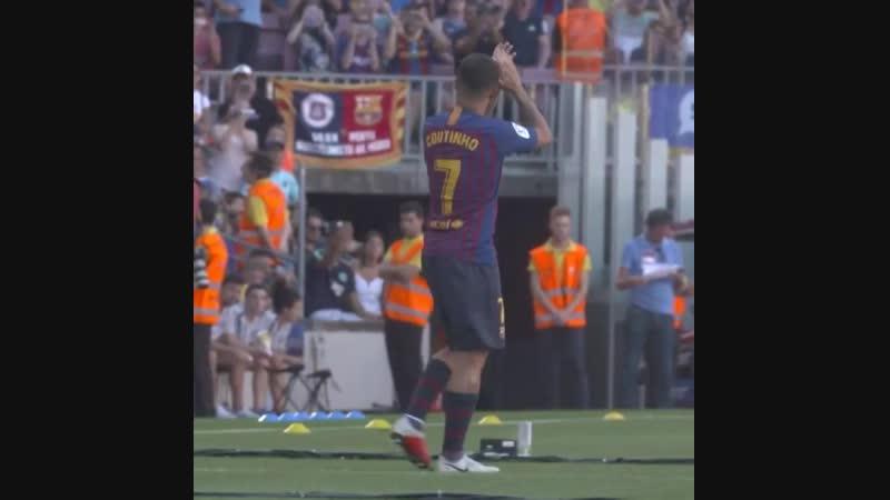 Full time: Barça beats Villarreal 2-0! 🔵🔴 BarçaVillarreal