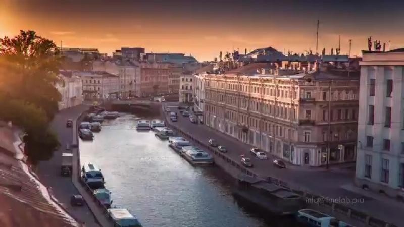 Вид на Петербург с высоты птичьего полёта Потрясающе