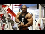 Shawn Lindo with IFBB Pro Marco Rivera Trains Back 3.5 Weeks Out from 2014 NPC Nationals