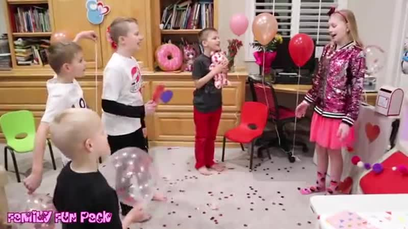 Kids Valentines Day Party Skit