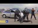 Телеканал Царьград Сотрудники ОВО показали как задерживать преступника