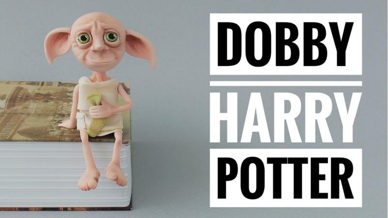 Cómo Hacer a DOBBY de Harry Potter | Porcelana Fría | Mis Mejores Ideas