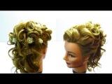 Свадебные прически на длинные волосы.Wedding hairstyles for a long hairs