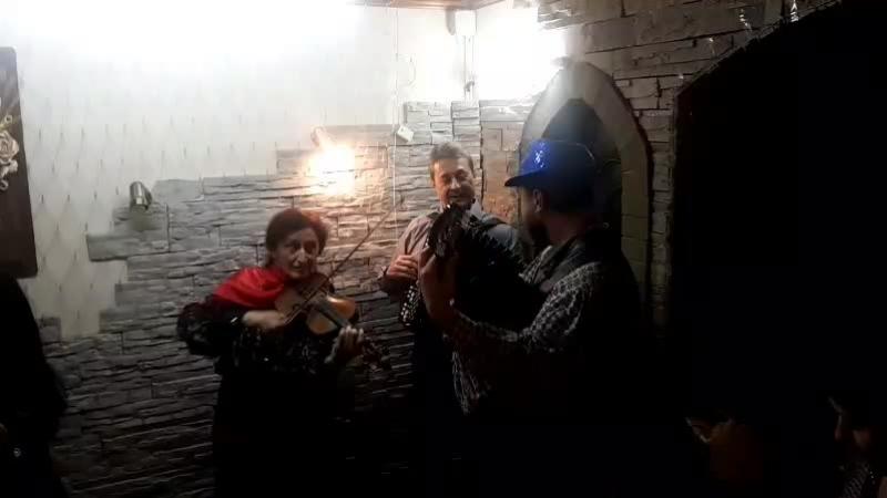 Единственный цыганский ансамбль Курска на юбилее мамы и сестры