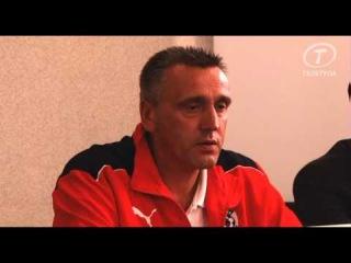 Пресс-конференция Вальдаса Иванаускаса после матча Арсенал - СКА-Энергия