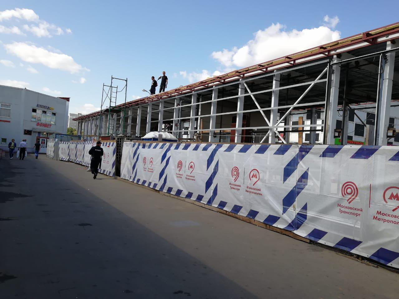 Работы по реконструкции переходов станции метро «Бибирево» вышли на финишную прямую