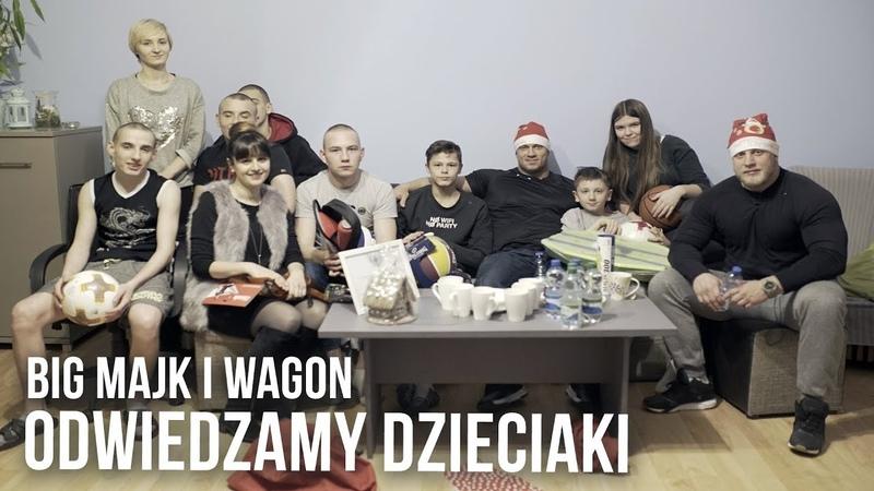 Big Majk i The Wagon: Anaboliczni Mikołaje odwiedzają dom dziecka