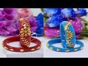Bengali Bridal Gold Sankha Pola Bangle Designs