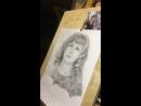 Рисую портрет карандашом ✨