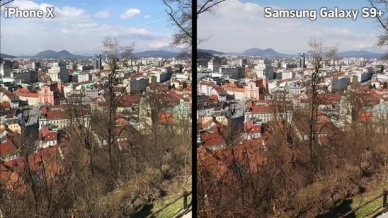 Сравнение камер Galaxy S9 vs iPhone X - ДОСКОНАЛЬНО(1)
