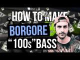 How to Make Borgore 100s Bass in Serum (Free Preset)