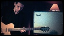 Cody Brooks plays the Supro Rhythm Master 1675RT with a Danelectro Baritone