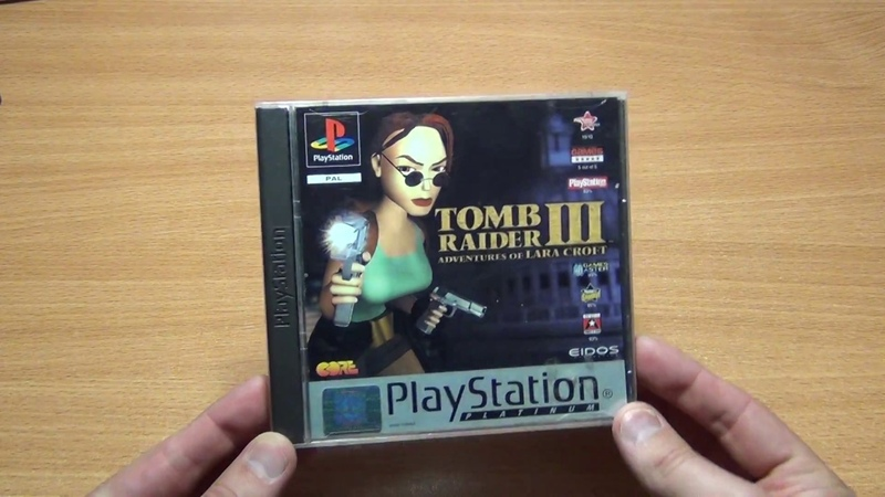 Tomb Raider III Adventures of Lara Croft PS1 PAL